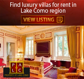 Lake Como villas for rent