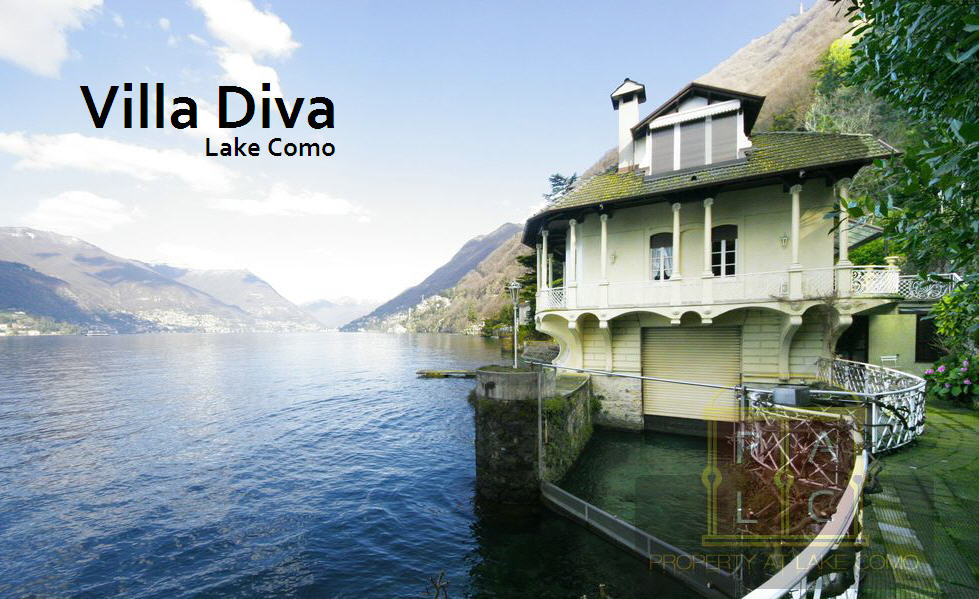 Villa Diva a Waterfront Property for sale in Lake Como