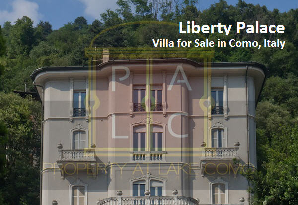 Liberty Palace – Italian Villa for Sale in Como, Italy