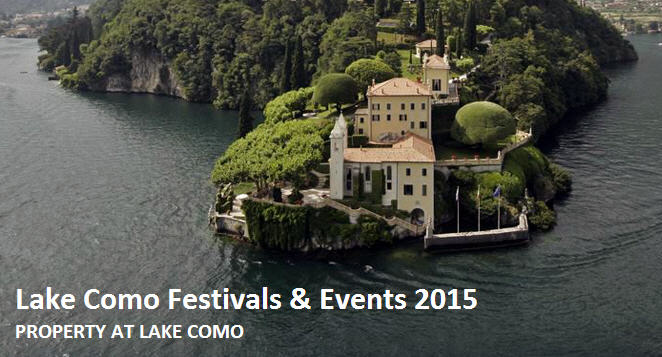 Lake Como Festivals & Events for Summer and Autumn 2015