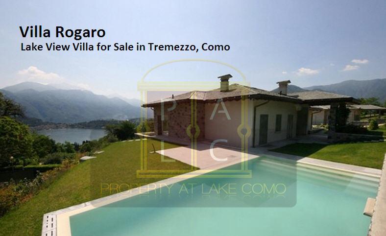 Villa Rogaro – Lake View Property in Tremezzo, Como for Sale
