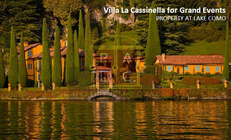 Villa La Cassinella – Perfect Place in Lake Como Region to Host Your Special Event