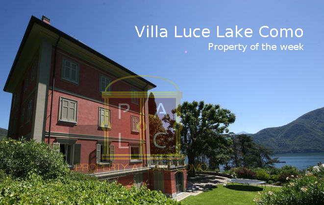 Luxury Italian Property of the Week: Villa Luce Lake Como