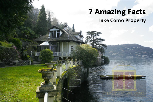 7 Amazing Facts about Lake Como Properties/Real Estate
