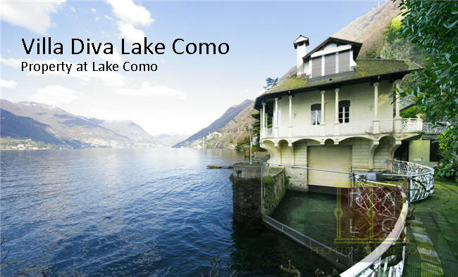 Lake Como Luxury Property of the Week: Villa Diva Waterfront Villa for Sale