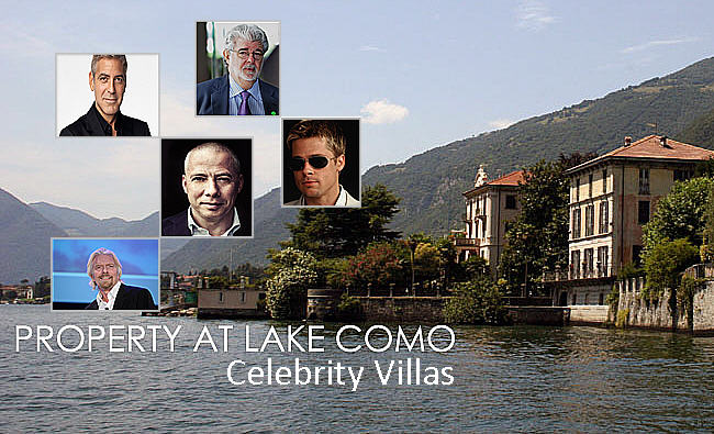 5 Celebrity Villas of Lake Como – Must See For Luxury Properties Buyers