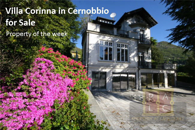Exclusive Italian Property of the Week – Villa Corinna in Cernobbio
