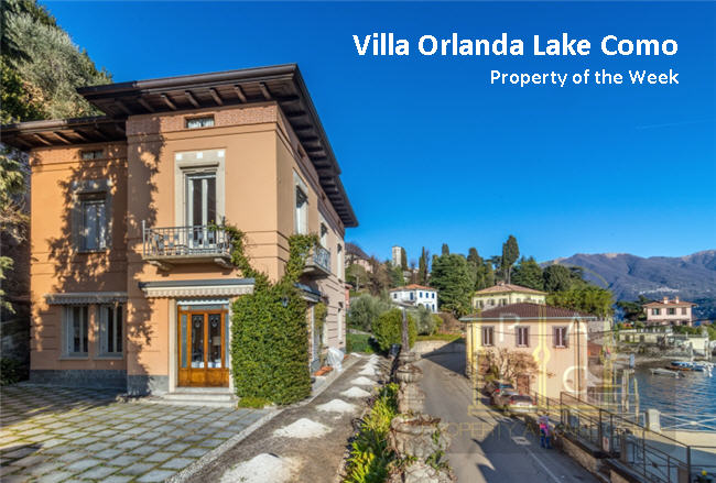 Property of the Week – Lakefront Villa Orlanda for Sale at Moltrasio, Lake Como