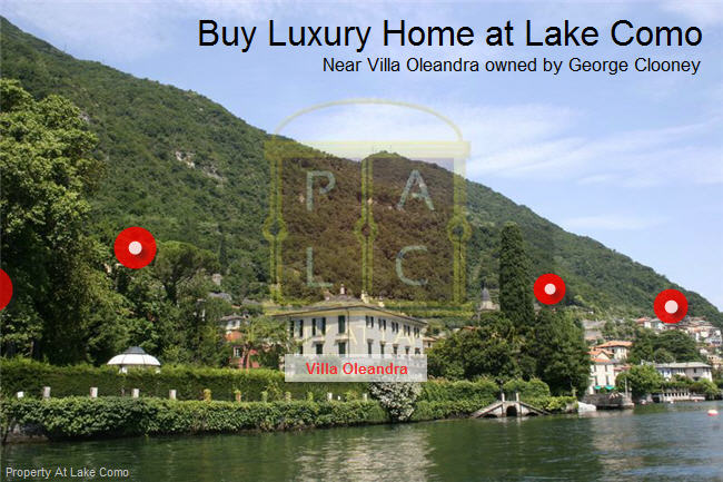 Buy Luxury Home near the Villa of George Clooney at Lake Como