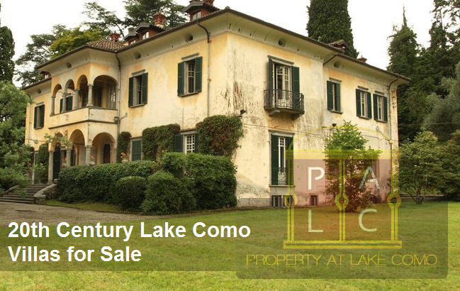 7 Homes to Buy at Lake Como that Were Built Before 20th Century