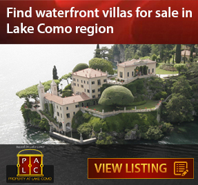 Find Waterfront Villas for sale in Lake Como Region