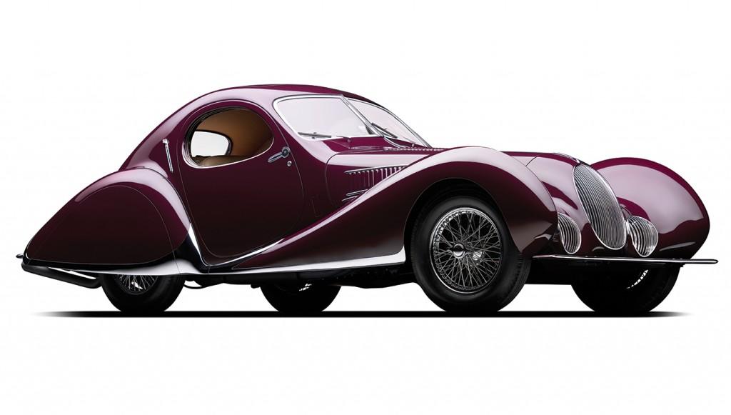Vintage Car Auction at Villa Ebra, Lake Como