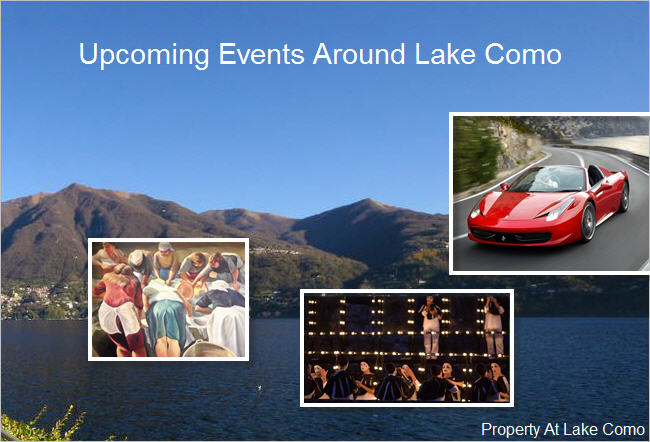 Festivals & Events at Lake Como