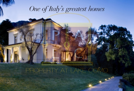 Waterfront Villa For Rent On Lake Como With Luxury Facilities
