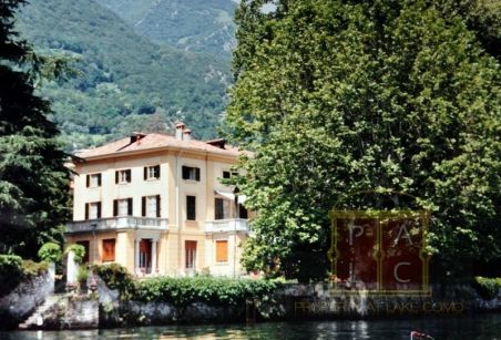 waterfront villa for rent lake Como