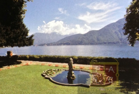 waterfront villa for rent lake Como view to Bellagio