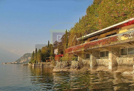 Lake front villa lake Como view to varenna and Bellagio