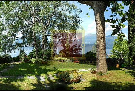 garden directly on the lake como.. view