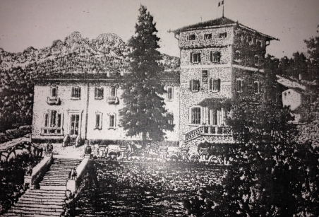old photo of cascina la torre
