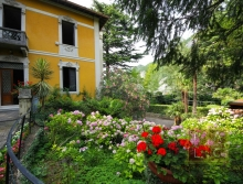 Buy Villa with Private Beach in Lake Como North Italy